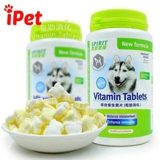 Viên Bổ Sung Dinh Dưỡng Cho Chó Canxi Khoáng Đẹp Lông Da Vitamin Tiêu Hóa Cơ Xương Khớp - SPIRITCHO 3