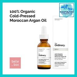 Tinh dầu dưỡng tóc và phục hồi The Ordinary 100pct Organic Cold-Pressed Moroccan Argan Oil