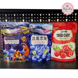 Kẹo Ô Mai Việt Quất - Cherry Việt Quất Sấy khô 408gr - Nội Địa Trung Quốc
