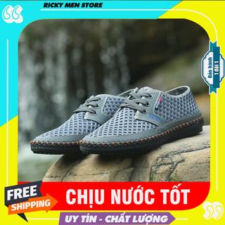 Giày lưới chịu nước - Giày đi câu cá, lội suối, chạy bộ - Giày phượt đi mưa - MS10 - 10 thumbnail