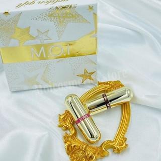 Son Thỏi Mini MOI-Golden Gift-Set 2 Thỏi Son Love M.O.I Mini Hồ Ngọc Hà - sonmini thumbnail