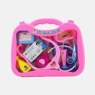 Đồ chơi vali bác sĩ dành cho bé chơi tập làm bác sĩ - VLBSLT thumbnail