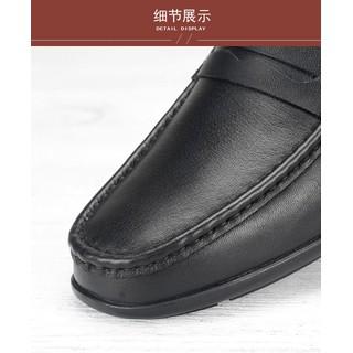 [da thật] Giày nam da công sở big size, giày tây nam big size cỡ lớn 44 45 46 47 48 cho chân to - GLBZ-02 2
