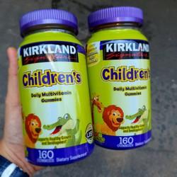 Kẹo Dẻo Kirkland children Vitamin tổng hộp - 160viên Bao bì mới