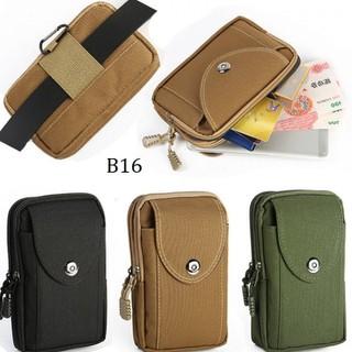 Bao đựng điện thoại 3 Ngăn đa năng đeo thắt lưng cho Nam MÃ B16 - Mã B16 thumbnail