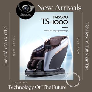 [Version 2021 Nâng cấp trí tuệ nhân tạo AI] TAISODO TS-1000 Ghế massage top 1 của hãng TAISODO. Gọi ngay 0963516961 ưu đãi dành riêng cho bạn - TAISODO TS-1000 thumbnail