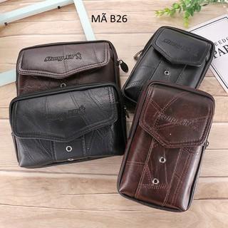 Bao da đựng điện thoại - Túi đeo hông Nhiều Ngăn Đẹp Mã B26 - Mã B26 thumbnail