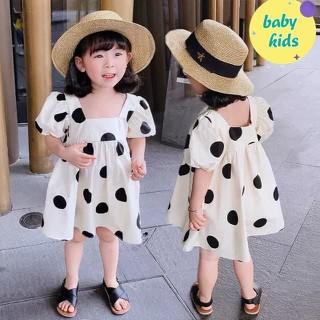 Đầm chấm bi cho bé gái - M28032103 1