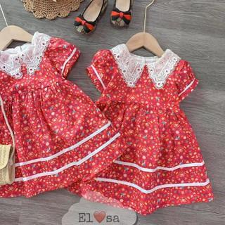 Váy hoa nhí đỏ cho bé yêu - M28032102 thumbnail