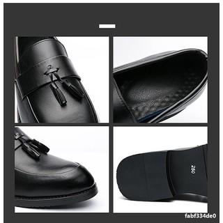 Giày lười nam da công sở big size, giày tây nam big size cỡ lớn 44 45 46 47 48 cho chân to mẫu buộc nơ- GT022 - GLNBZ-003 3