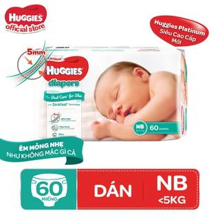 Tã dán Huggies Diapers Platinum NB60 - 8888336029405 thumbnail