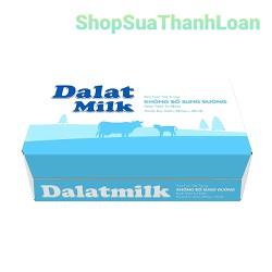 [HDS T9-2021] [TẶNG 1 HỘP LEGO SÁNG TẠO FRISO] Sữa tươi tiệt trùng không đường Dalat Milk - Thùng 48 hộp x 180ml