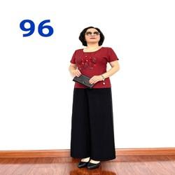 Thời Trang Trung Niên 2021 - Bộ Đũi Tay Lỡ Cao Cấp - Chất Vải Loại 1- Siêu Mềm, Siêu Mát -96 - Laddy Store