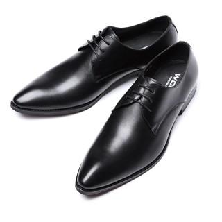 Giày nam buộc dây da công sở big size, giày tây nam big size cỡ lớn 44 45 46 47 48 cho chân to -da thật kèm video thật - GBS-2102 thumbnail