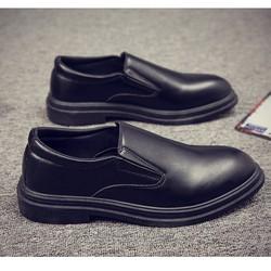 Giày tây nam thắt dây Oxford New One Nâu – big size, size lớn