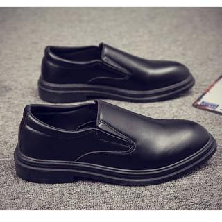 Giày lười nam da công sở big size, giày tây nam big size cỡ lớn 44 45 46 47 48 cho chân to da thât kèm video thử lửa - GBS21-00 thumbnail