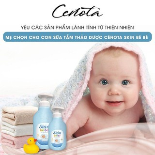 [CHÍNH HÃNG CAO CẤP] Sữa tắm gội Cenota Skin Bé Bé 300ml - STCB thumbnail