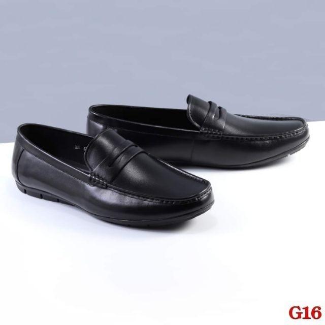 [size 44 49] Giày lười nam big size đế bệt from siêu to chất da bò 100%, phát hiện dả da đảm bảo đền 10 triệu - GLBG-002 1