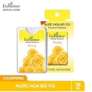 Nước hoa bỏ túi Enchanteur charming - Hương thơm quyến rũ - Lưu hương 10 tiếng- 18ml (250 lần xịt) - Nước hoa Enchanteur thumbnail