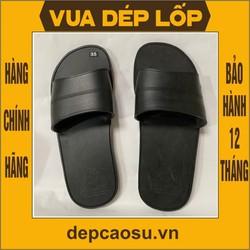 Dép cao su 1 quai ngang, được làm thủ công của Vua dép lốp Phạm Quang Xuân, ảnh thật, bảo hàng và sẵn hàng