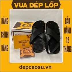 Dép cao su - Mẫu Dép Bác Hồ, được làm thủ công của Vua dép lốp Phạm Quang Xuân, ảnh thật, bảo hàng và sẵn hàng