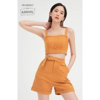 Quần short nữ paghet có túi GUMAC QB416 - QB416 thumbnail