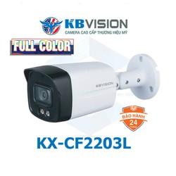 Camera HD Analog 4in1 2MP Full Color KBVISION KX-CF2203L -  đập tan bóng tối