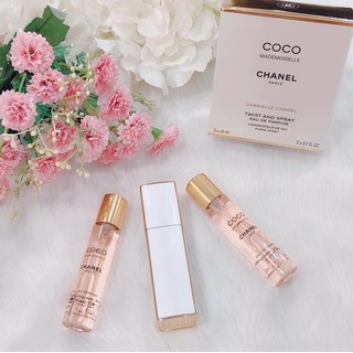 Set Nước Hoa Chanel Coco Mademoiselle EDP (3x20ml) - Set Mademoiselle EDP thumbnail