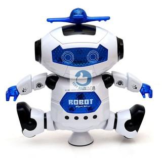 Rô bốt thông minh xoay 360 - Rô bốt phát nhạc - robotxoay360 thumbnail