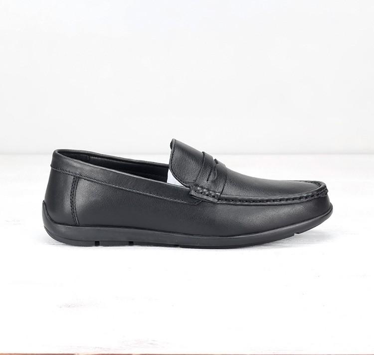 [size 44 49] Giày lười nam big size đế bệt from siêu to chất da bò 100%, phát hiện dả da đảm bảo đền 10 triệu - GLBG-002 2