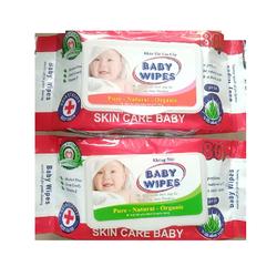Khăn giấy ướt baby hương dịu  hộp 80 gr - khan giay uot