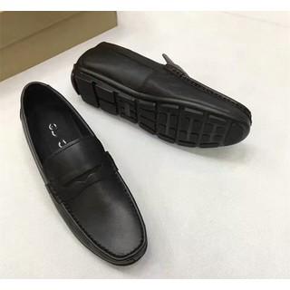 [size 44 49] Giày lười nam big size đế bệt from siêu to chất da bò 100%, phát hiện dả da đảm bảo đền 10 triệu - GLBG-002 4