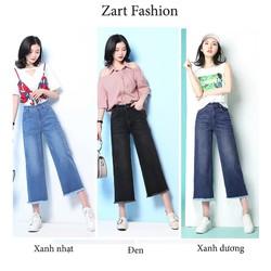 Quần jeans Ống Suông Lửng_ ZART