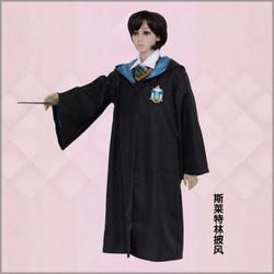 Áo Choàng Hóa Trang Ma Thuật Trang Phục 2020 Áo Khoác Nam Nữ Áo Nỉ Trang Phục Trường Hogwarts Harry Potter Hufflepuff Ravenclaw Slytherin