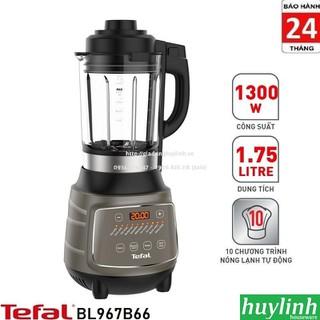 Máy làm sữa hạt - xay sinh tố nóng lạnh Tefal BL967B66 - 1.75 lít - 1300W - Tefal BL967B66 thumbnail