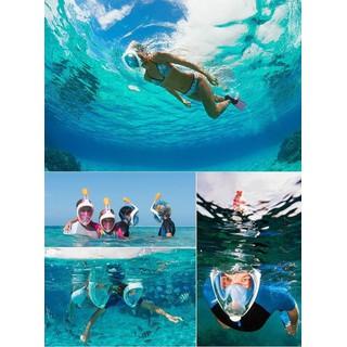 kính lặn . kính bơi, mặt nạ lặn , kính lặn đi biển du lịch có thanh hỗ trợ gắn camera - mặt nạ lặn thumbnail