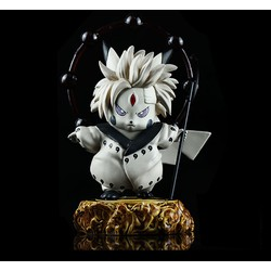 Mô hình Lục đạo tiên nhân có mắt Sharinrinnegan mini - Naruto