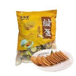 MẪU MỚI [Chính Hãng]Bánh quy trứng muối Đài Loan 500g