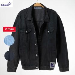 Áo khoác jean nam Hahaman thời trang cao cấp AKJ001
