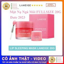 Mặt Nạ Ngủ Cho Môi LANEIGE. Lip Sleeping Mask 20g FULLSIZE [ Cam Kết Hàng Chuẩn - Video Ảnh Thật ]