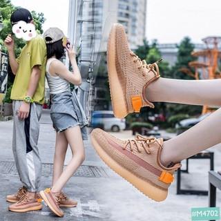 Giày Cặp Đôi Nam Nữ MINSU M4702, Giày Thể Thao Sneaker Nam Nữ Phản Quang Hàn Quốc Mang Đi Chơi Đi Học, Du Lịch Thêm Gắn Kết - M4702 thumbnail