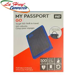 Ổ Cứng Di Động SSD Western Digital My PassPort Go 500GB WDBMCG5000ABT-WESN