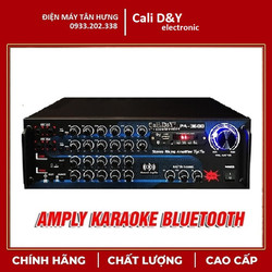 Ampli Bluetooth Cali DY PA-3600 Amply Karaoke 12 sò Nhật giá rẻ