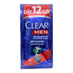 Combo 2 Chai Dầu Gội Clear Bạc Hà và Clear Men chính hãng Thái Lan
