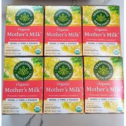Trà lợi sữa Traditional Medicinals Organic Mother's Milk - 16 gói