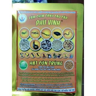 Hạt Côn Trùng Phú Vinh 100g - giúp chim căng lửa thi đấu căng - hạt côn trùng thumbnail