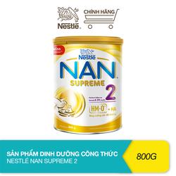 Sản phẩm dinh dưỡng công thức bổ sung 2HM-O Nestlé Nan Supreme 2 (800g)