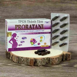 Viên uống cho mẹ bầu PRONATANL giúp bổ sung DHA EPA VITAMIN và KHOÁNG CHẤT cho mẹ bầu - Hộp 30 viên - 3459820089 thumbnail