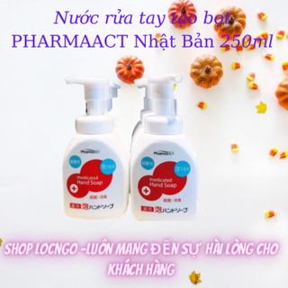 Nước rửa tay tạo bọt PHARMAACT NHẬT BẢN 250ml Chống COVID by Shop LocNgo [ĐƯỢC KIỂM HÀNG] 42001496 - 42001496 thumbnail