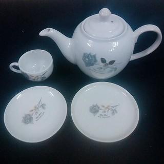 Ấm Pha trà Hoa Hồng Bát Tràng Dung Tích 500 ml - Ấm Pha trà Hoa Hồng thumbnail